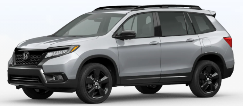 2021 Honda Passport Lunar Silver Metallic