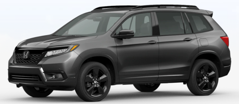2021 Honda Passport Modern Steel Metallic
