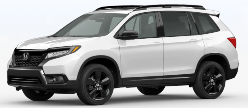 2021 Honda Passport Platinum White Pearl