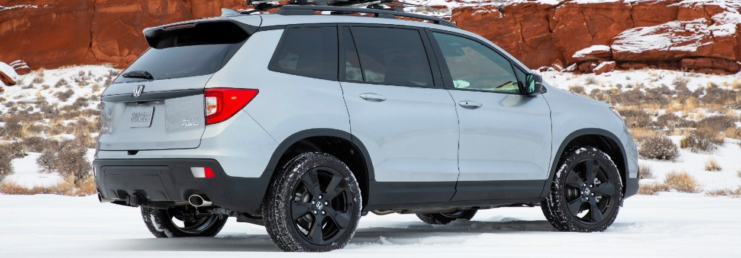 What are the Color Options of the 2021 Honda Passport?