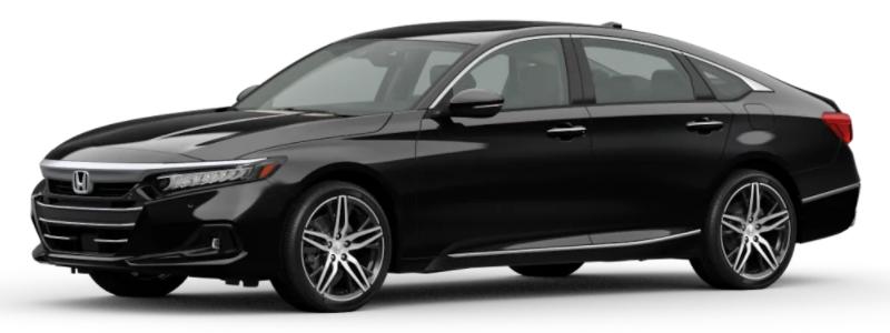 2021 Honda Accord Crystal Black Pearl