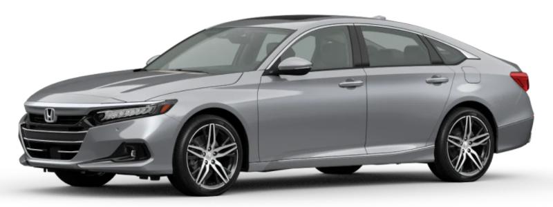 2021 Honda Accord Lunar Silver Metallic