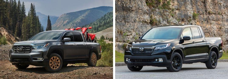 2021 Honda Ridgeline and 2020 Honda Ridgeline