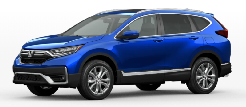 2021 Honda CR-V Aegean Blue Metallic