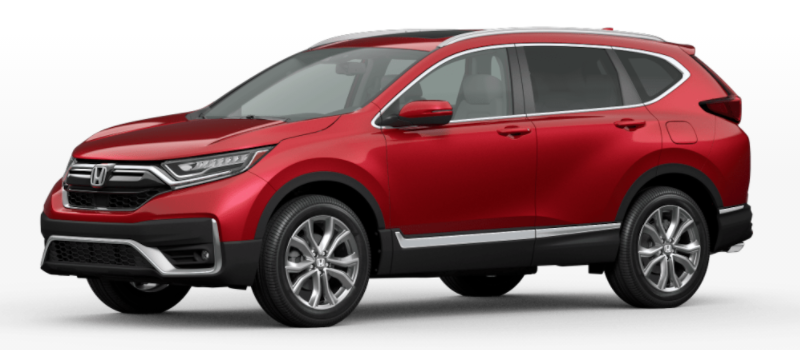 2021 Honda CR-V Radiant Red Metallic