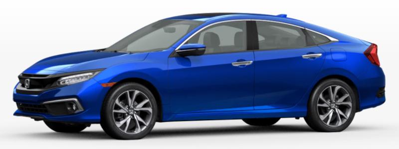 2021 Honda Clarity Fuel Cell Aegean Blue Metallic