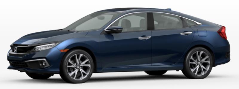 2021 Honda Clarity Fuel Cell Cosmic Blue Metallic