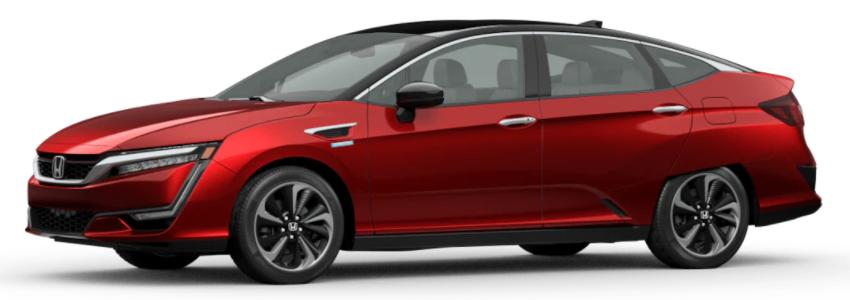 2021 Honda Clarity Fuel Cell Crimson Pearl