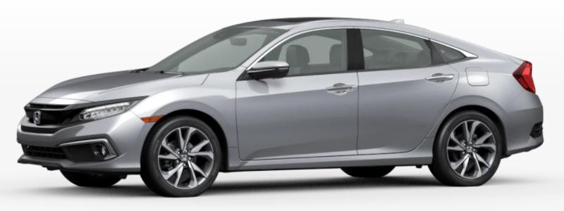2021 Honda Clarity Fuel Cell Lunar Silver Metallic