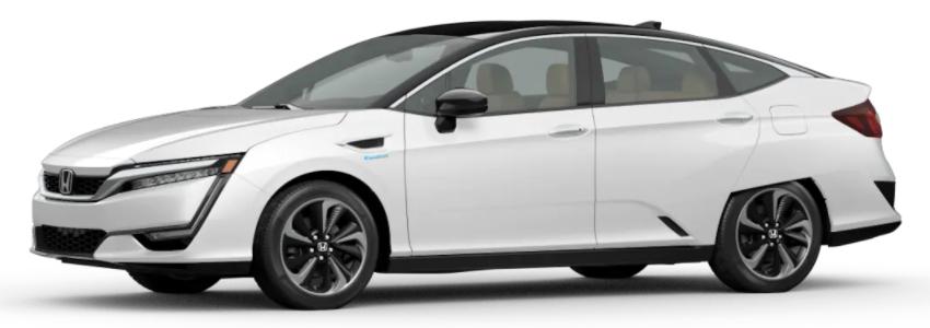 2021 Honda Clarity Fuel Cell Platinum White Pearl