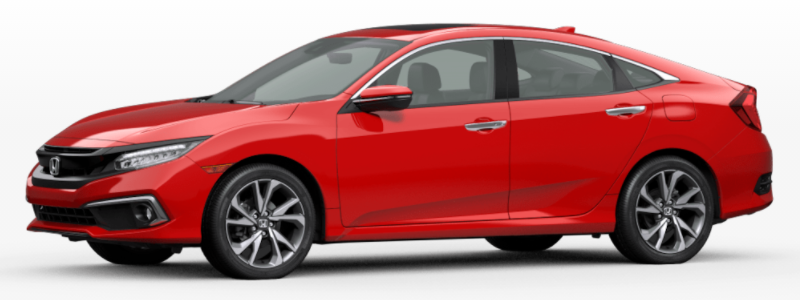 2021 Honda Clarity Fuel Cell Rallye Red