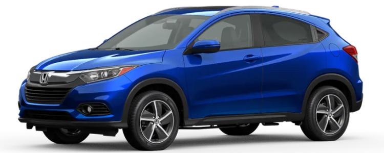 2021 Honda HR-V Aegean Blue Metallic