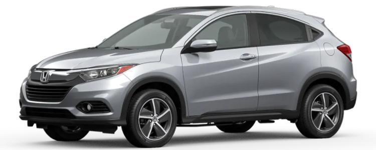 2021 Honda HR-V Lunar Silver Metallic