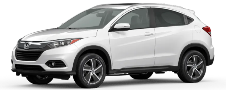 2021 Honda HR-V Platinum White Pearl