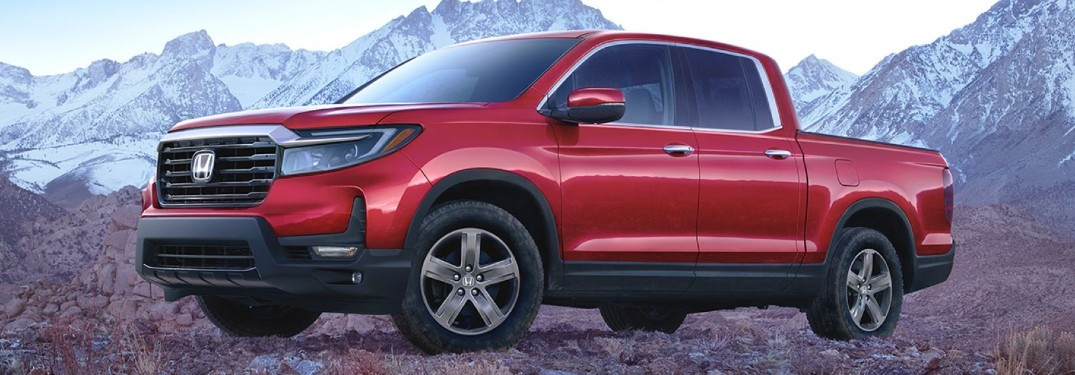 What are the Color Options of the 2021 Honda Ridgeline?