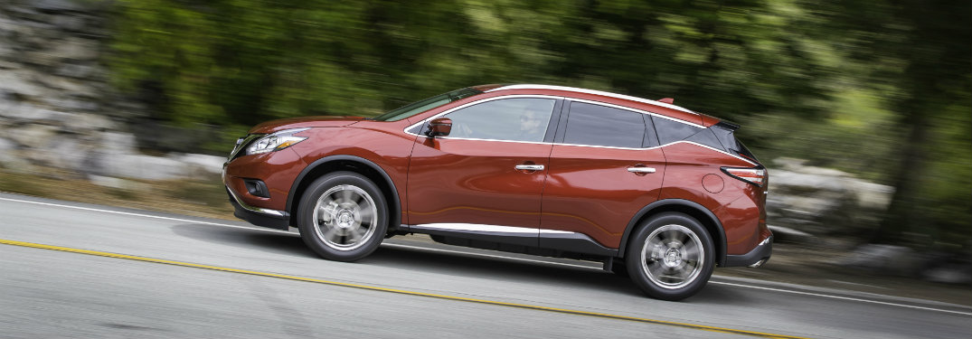 2018 Nissan Murano exterior side driving on road