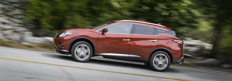 2018 Nissan Murano driving down road