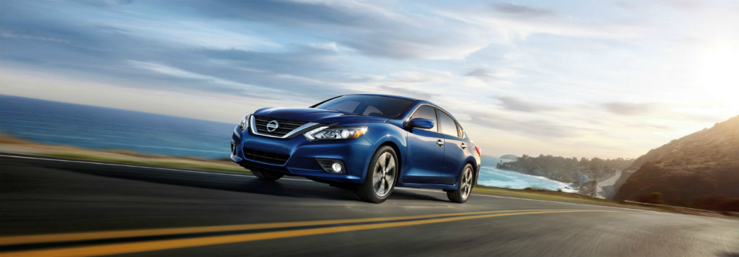 2018 Nissan Altima driving down road