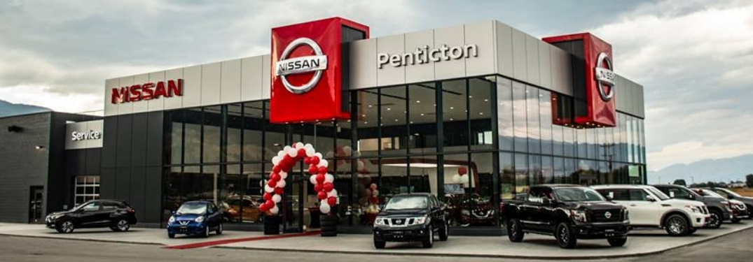 exterior view of penticton nissan dealership