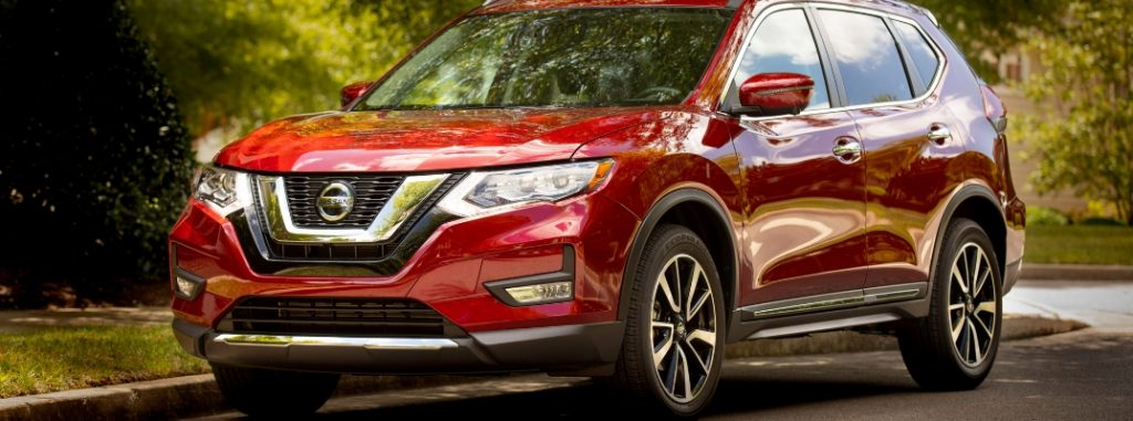 full front view of 2019 nissan rogue