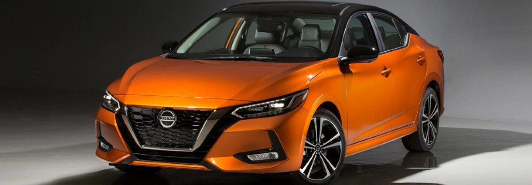 2020 Nissan Sentra side front view
