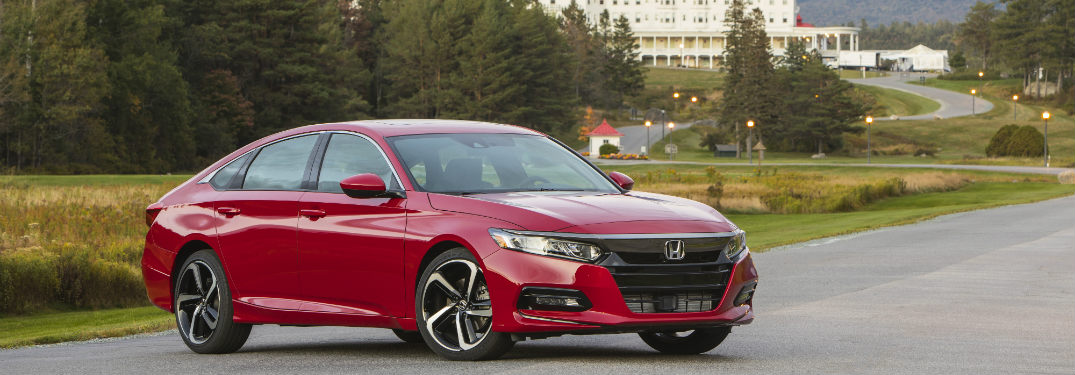 2019 Honda Accord parked on a road