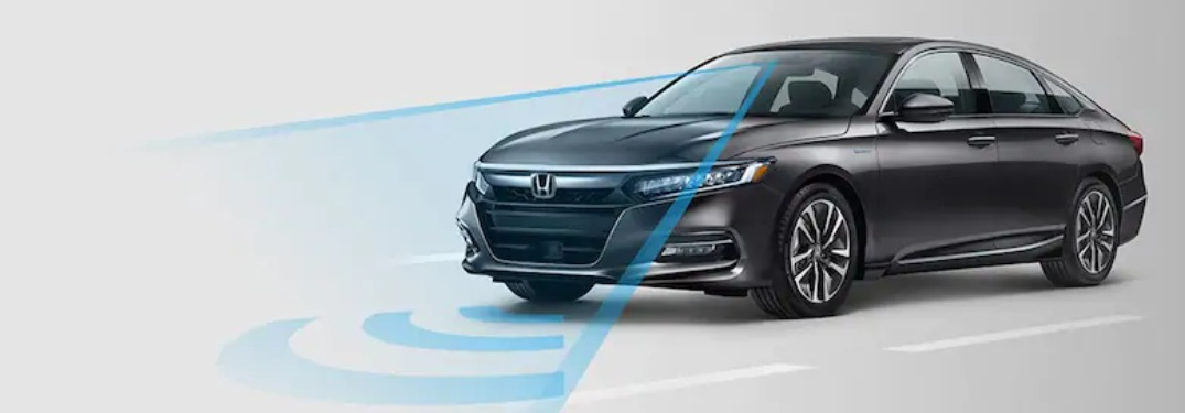 2019 Honda Accord using its forward collision mitigation system