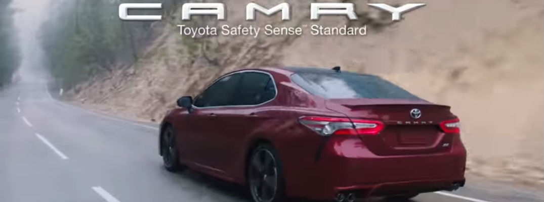 2018 Toyota Camry Wonder Commercial Screenshot