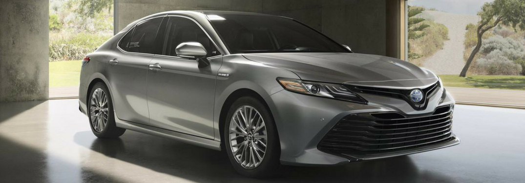 full view of 2018 camry
