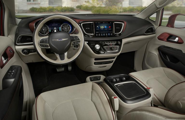 2018 Chrysler Pacifica Interior O Cowboy Chrysler Dodge Jeep Ram