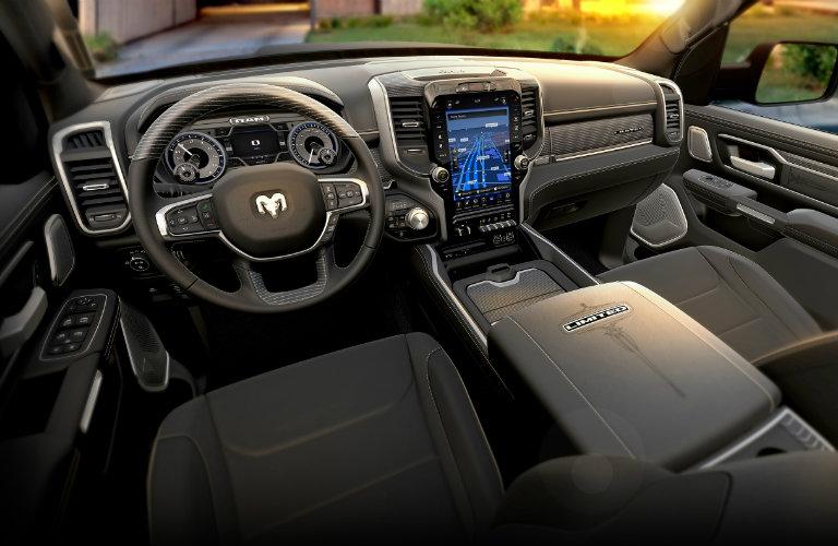 new dodge ram interior automotive news big three keep on truckin in detroit luxury comparison. Black Bedroom Furniture Sets. Home Design Ideas