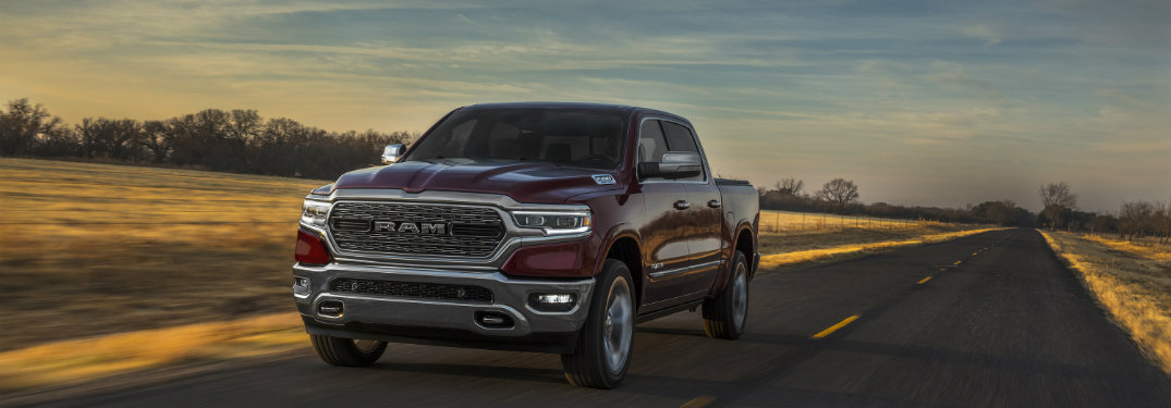 2019 Ram 1500 drives on road