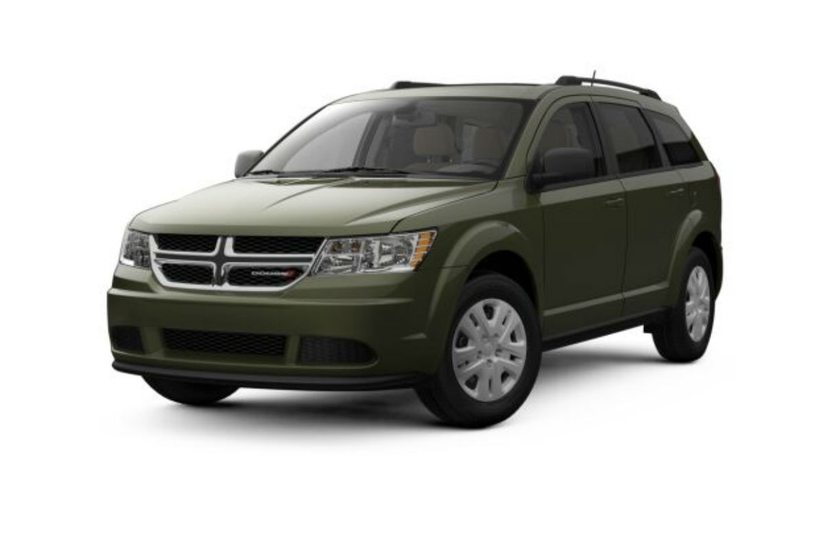 What Are The Color Options For The 2018 Dodge Journey?