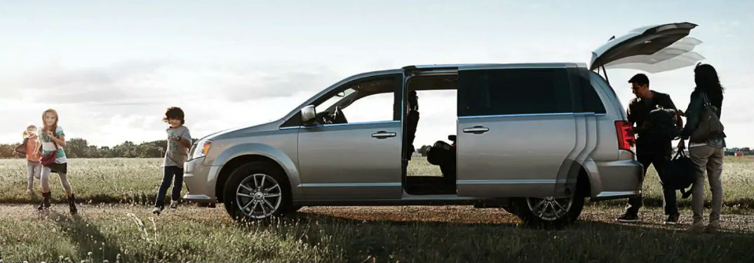 How Much Cargo Space Does The 2019 Dodge Grand Caravan Have