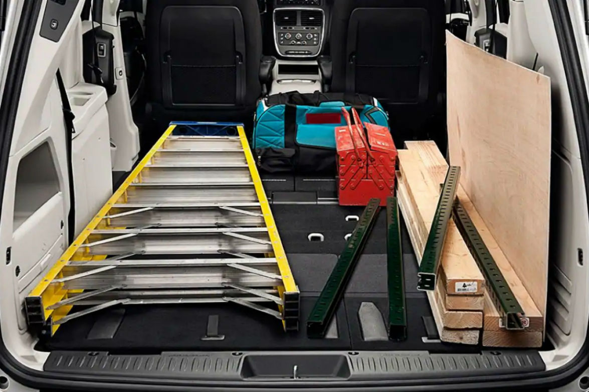 how much cargo space does the 2019 dodge grand caravan have. Black Bedroom Furniture Sets. Home Design Ideas