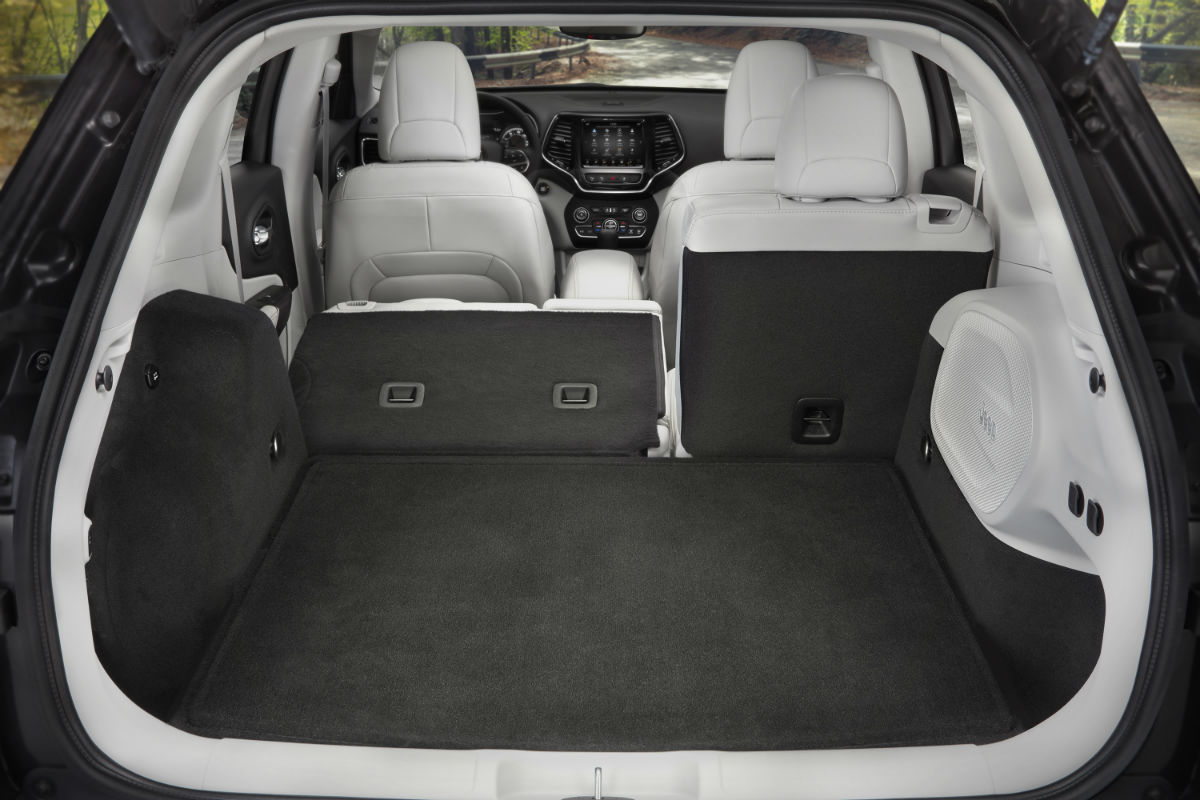 Jeep Grand Cherokee Cargo Space >> What Are The Interior Space Specs Of The 2019 Jeep Cherokee