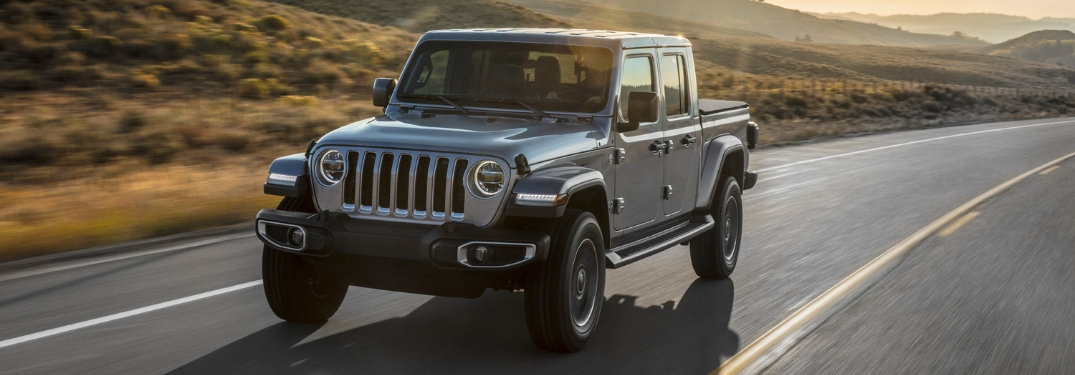 All-New Jeep Gladiator Pickup Truck Available in 10 Exterior Colors