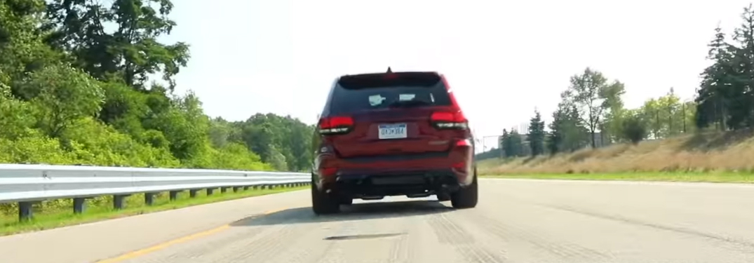 What does Launch Control do in the 2019 Jeep Grand Cherokee Trackhawk?