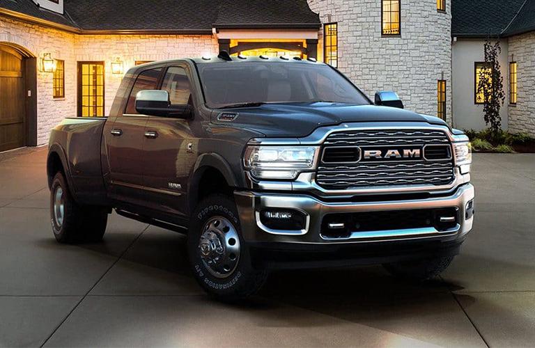 2019 Ram 3500 exterior in black