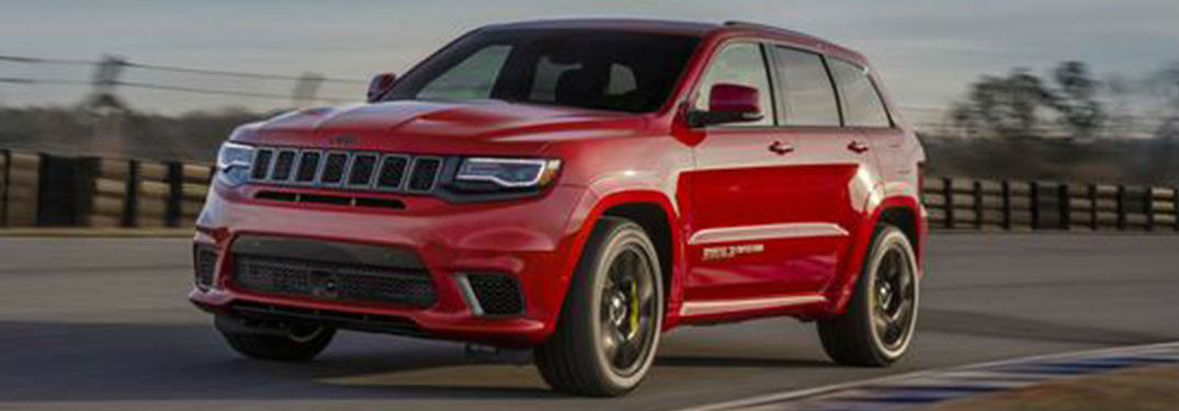 2020 Jeep Grand Cherokee in red