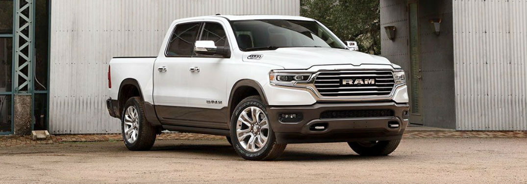 What paint colors are there on the Ram 1500?