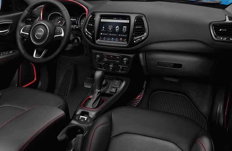 2020 Jeep Compass dashboard