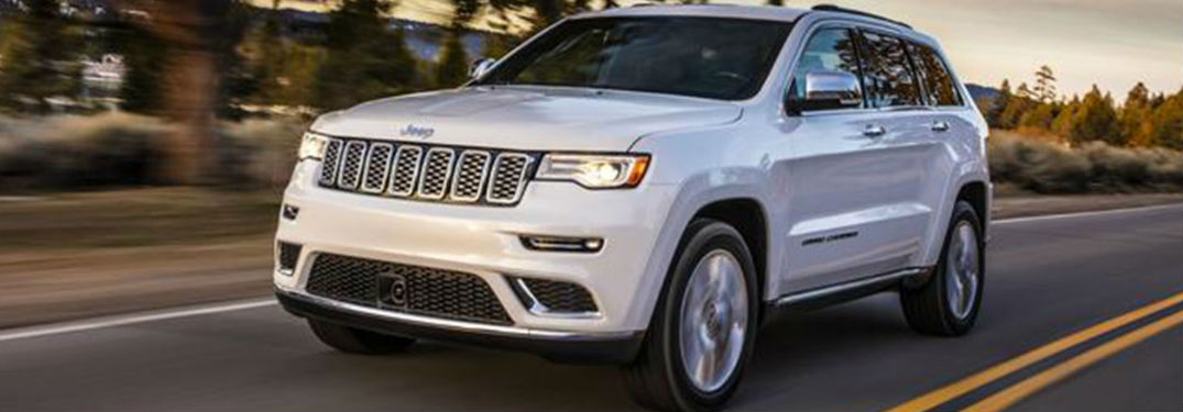 2020 Jeep Grand Cherokee in white