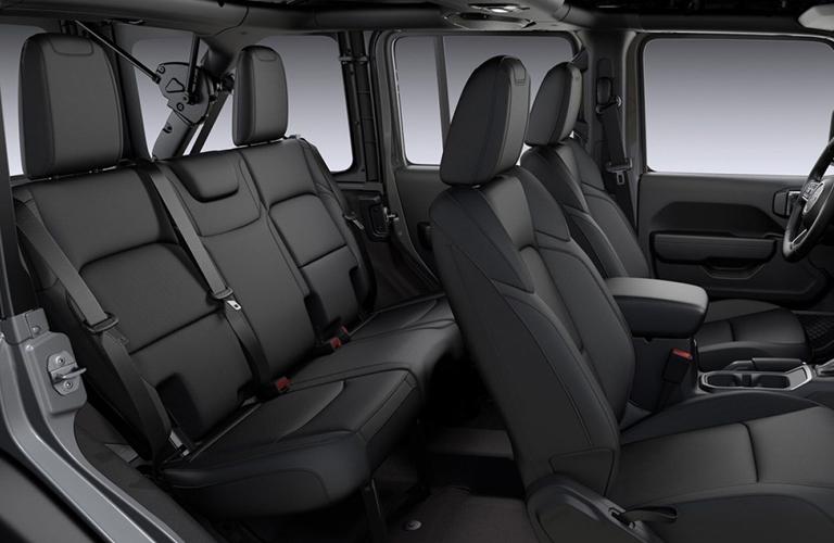 2020 Jeep Wrangler seating