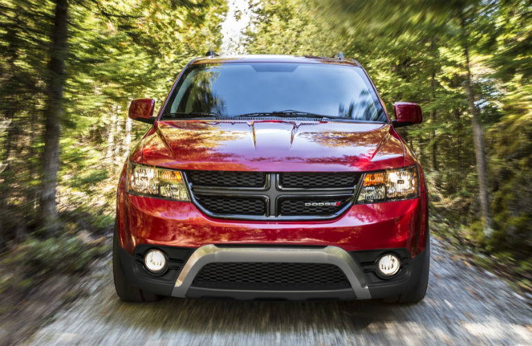 2020 Dodge Journey front in red