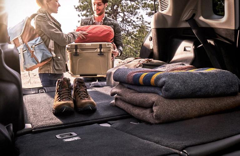 2020 Jeep Compass cargo area