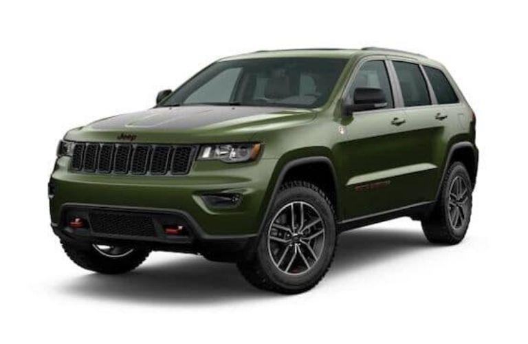 2020 Jeep Grand Cherokee in Green Metallic