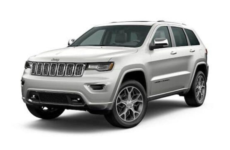 2020 Jeep Grand Cherokee in Ivory