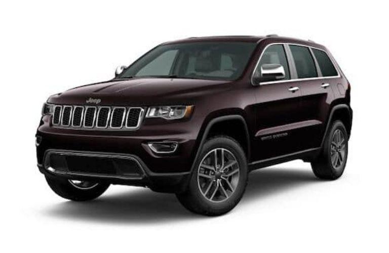 2020 Jeep Grand Cherokee Sangria Metallic