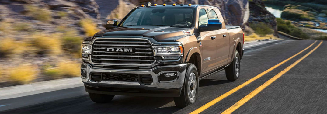 What technology is available in the Ram 2500?